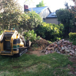 Mini Digger at Work - Griffith 2603