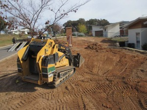 mini digger business in canberra