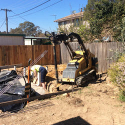 mini post hole digger canberra