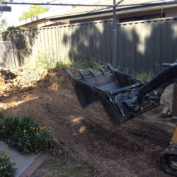 Narrow Access Mini Digger Hire Canberra